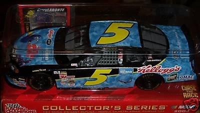 2003 Terry Labonte #5 Kelloggs Nemo GMAC Chevrolet Monte Carlo Racing Champions 1:24