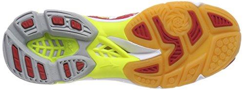 D'onde Foudre ™ Chaussures De marsredwhitesafetyyellow € Course De Multicolore Mizuno De Z4 De Ména WFPgv6q