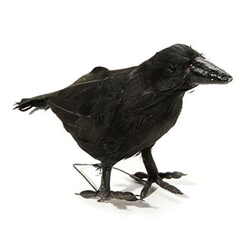 Maleficent Bird Costume (Fake Black Crow Prop 7.4 Inch)