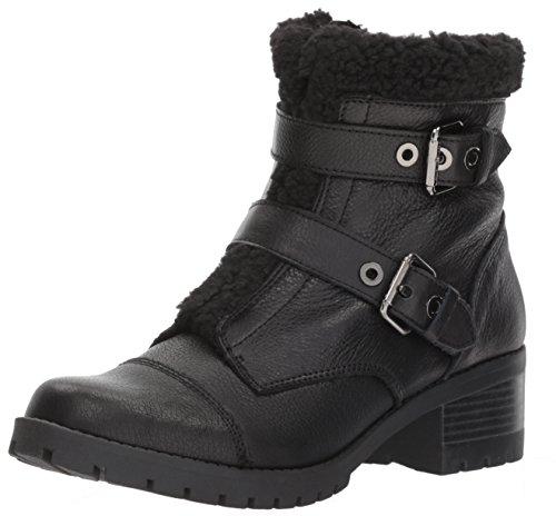 Anne Klein AK Sport Women's Lolly Fashion Boot, Black/Multi Leather, 9 M US -