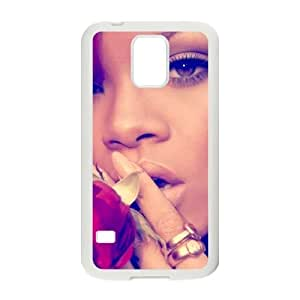 Personalized Cover Case with Hard Shell Protection for SamSung Galaxy S5 I9600 case with Rihanna lxa#7205989