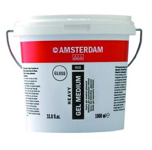 Royal Talens Amsterdam Heavy Gel Medium, 1 Liter Tub, Glossy (24192015) by Amsterdam