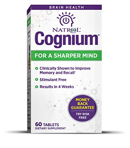 Natrol Cognium 100Mg Tablets for Brain Health , 60 Count