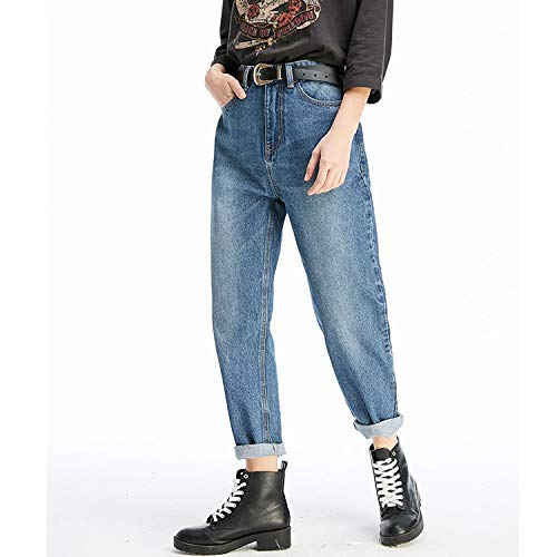 E Mvguihzpo Haren Casual Blue Jeans Donna Pantaloni Comodi Cowboy Jeans Rape Xs A M Nuovi 0rA0Yqw