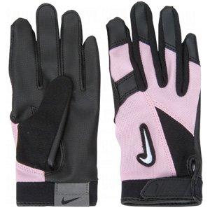 Nike gb0304 Diamond Elite Edge Batting Handschuhe – Tee Ball, Schwarz/Pink
