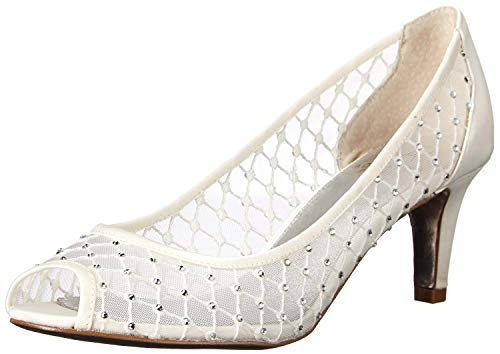 Adrianna Papell Women's Jamie Dress Pump, Ivory, 9 M US