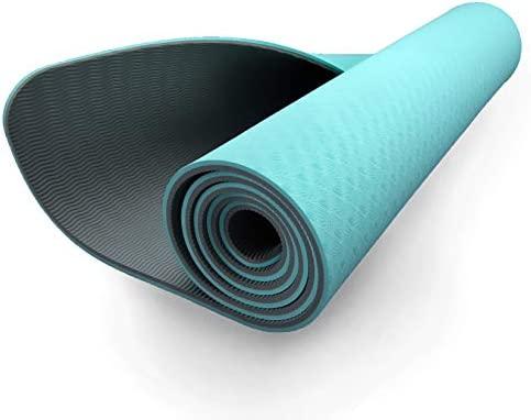 ZIVA Fitness - Esterilla de yoga portátil antideslizante de ...