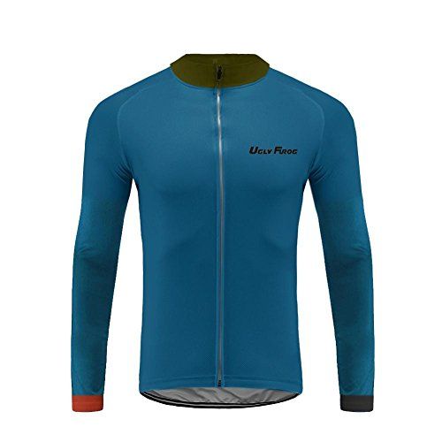 Uglyfrog 2018 Summer Style Men s Long Sleeve Cycling Jersey 841c8a786