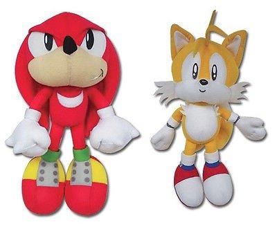 Amazon Com Great Eastern Sonic The Hedgehog Plush Set Of 2