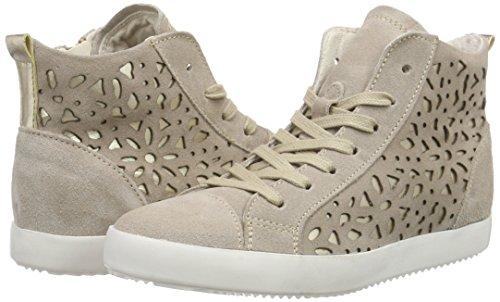 Hi top Women's 25220 gold Sneakers Tamaris pepper Beige 395 nOpztxEw6