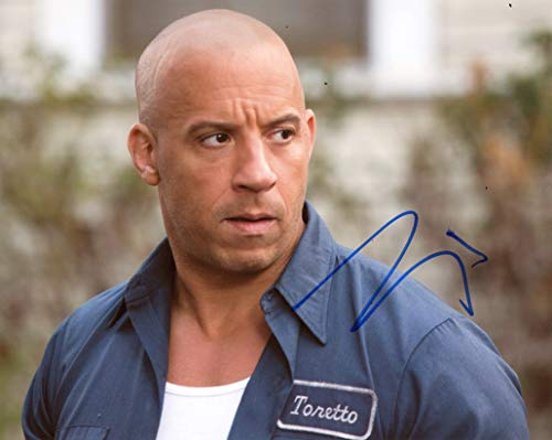 fast and furious signed picture - 8