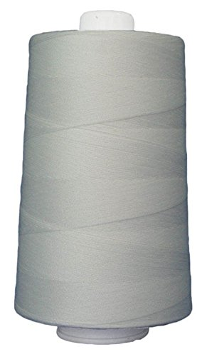 Superior Threads 13402-3002QC Omni 40W Polyester Thread, 6000 yd, Natural White