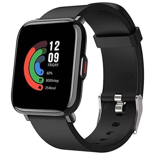 AITES Smartwatch,Reloj Inteligente para Hombre Mujer 18 Modos Reloj Deportivo con Impermeable 5ATM Pulsera Actividad Inteligente con Pulsómetro Monitor de Sueño Calorías Podómetro,Regalo para Hombre a buen precio