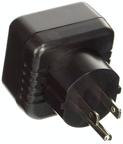 VCT Electronics VP13 Converts European/German Shucko plugs To USA Outlet Plug Adapter