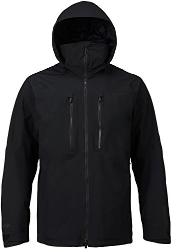 Burton Men's AK 2L Swash Jacket, True Black, (Burton Mens Hood Jacket)