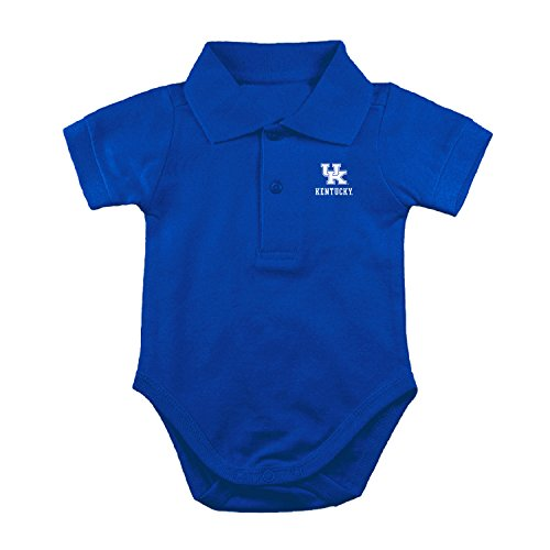 - Two Feet Ahead Kentucky Wildcats NCAA College Newborn Infant Baby Polo Creeper (12 Months)