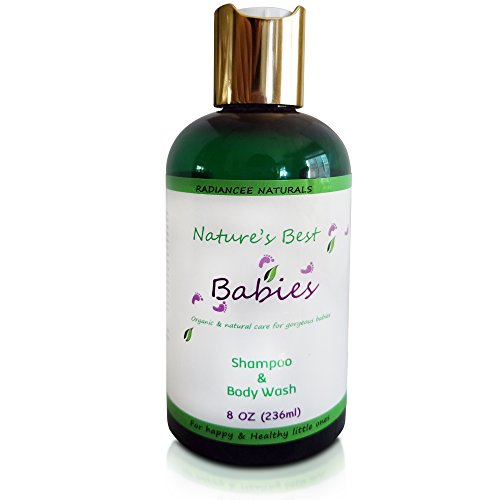 Baby Shampoo And Body Wash 8 oz - Gentle Tear Free Formula - Organic and Natural Wash with Essential Oils - Best Gift for Your Loved - Goggles Coupon You For