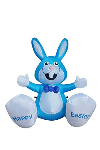 Outdoor Lighted Easter Bunny - 1