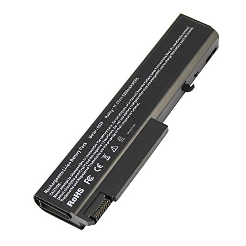 Futurebatt Laptop Battery 5200mAh for HP EliteBook 8440p 8440w 6930p, Compaq 6730b 6735b 6530b, ProBook 6440b 6445b 6540b 6545b, fits P/N 482962-001 458640-542 HSTNN-UB69 (Elitebook 8440p Battery)