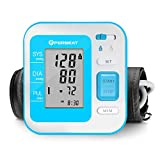 Blood Pressure Monitor Upper Arm Automatic Digital BP Machine with Large Range Cuff
