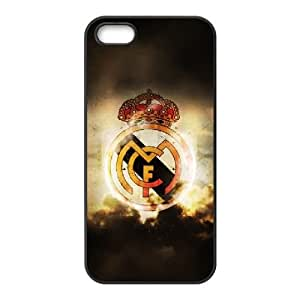 Real Madrid iPhone 4 4s Cell Phone Case Black xlb-138633