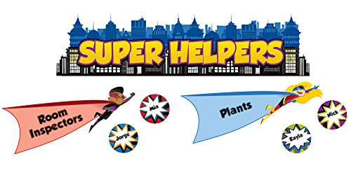 Carson Dellosa Super Power Super Helpers Bulletin Board Set (110317)