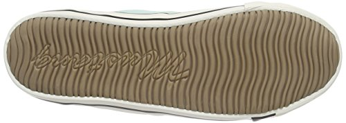 Vert Basses 702 1099302 Baskets lindgrün Mustang Femme PxHw6PI