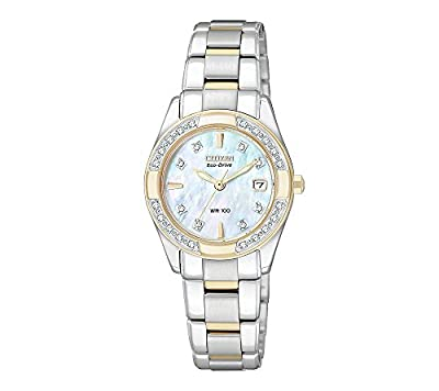 Citizen Women's Eco-Drive Two-Tone Regent Watch from Citizen