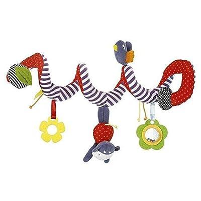 jiaxinyaolong BeeSpring Kid Baby Crib Cot Pram Hanging Rattles Spiral Stroller Car Seat Toy: Toys & Games