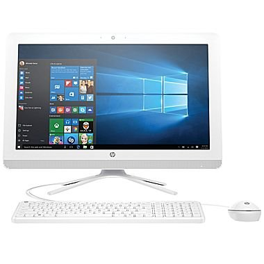 2017 Newest HP 21.5-Inch Full HD IPS All-in-One High Performance Desktop PC, Intel Pentium Quad-Core Processor, 4GB RAM, 1TB 7200RPM HDD, DVD+/-RW, WIFI, Bluetooth, HDMI, Windows 10, Silver
