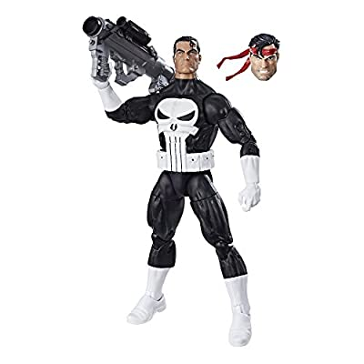 Marvel Retro 6-inch Collection Punisher Figure: Toys & Games