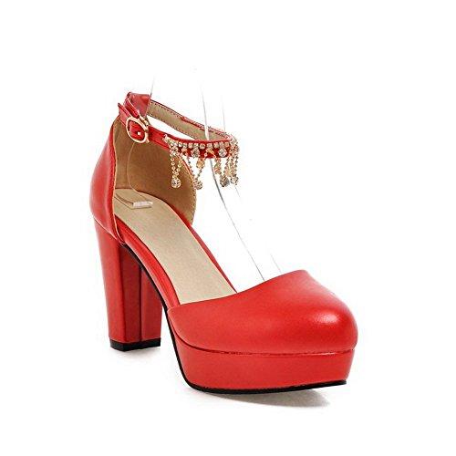 BalaMasa Rouge pour pour femme Sandales femme Sandales femme Sandales BalaMasa Rouge BalaMasa pour YffFwqg