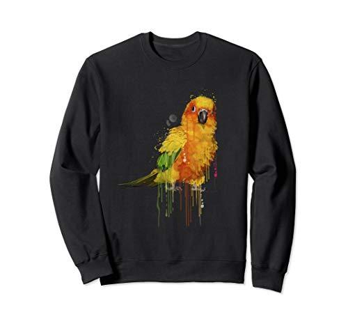 Sun Conure Shirt, Cute Conure Parrot Sweatshirt