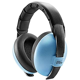 JOINT STARS Baby Noise Cancelling Headphones, Baby Earmuffs, Baby Headphones, Baby Ear Protection, Baby Headphones Noise Reduction, Blue