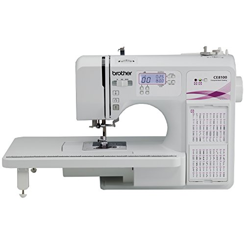 Brother CE8100 Sewing & Quilting Machine with Bonus Foot Pack