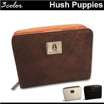 9e6f1e37032b Amazon   Hush Puppies(ハッシュパピー)二つ折り財布 ラウンド式 ...