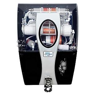 AQUA LIBRA with DEVICE Aqua Libra RO+UV+Uf+Tds Control with Active Copper Premium Water Purifier, (SILVER)