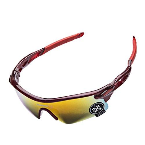 unique Familizo Vélo de C Taille B de Air Lunettes Lunettes en Polarized Cyclisme Plein Sunglasses 1U7F1qr