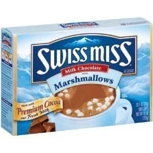 Swiss Miss, Hot Cocoa Mix with Mini Marshmallows, 10 Count, 7.3oz Box (Pack of 3)