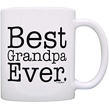 Father's Day Gift Best Grandpa Ever Birthday Gift Gift Coffee Mug Tea Cup White