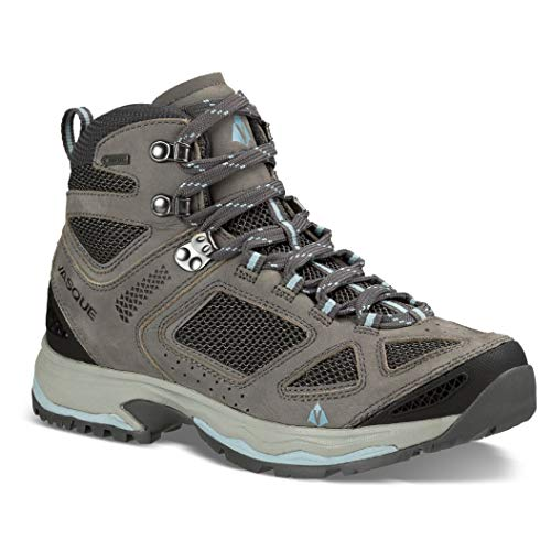 Vasque Womens Breeze Iii Gtx Hiking Boots, Gargoyle/stone Blue (8.5)
