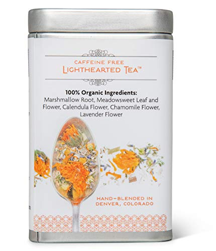 Organic Heartburn Relief for Acid Reflux & Pregnancy Heartburn Tea - Lighthearted Tea by Birds & Bees Teas - A Delicious Natural Remedy for Acid Reflux & Pregnancy Heartburn Relief (~30 servings) - incensecentral.us