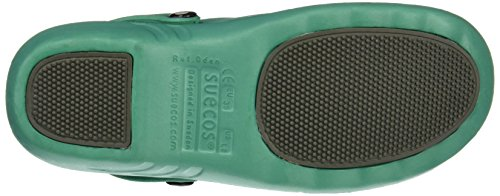 Suecos® Unisex Adults' Oden Work Clogs Green (Green) ZBmcdlYYM