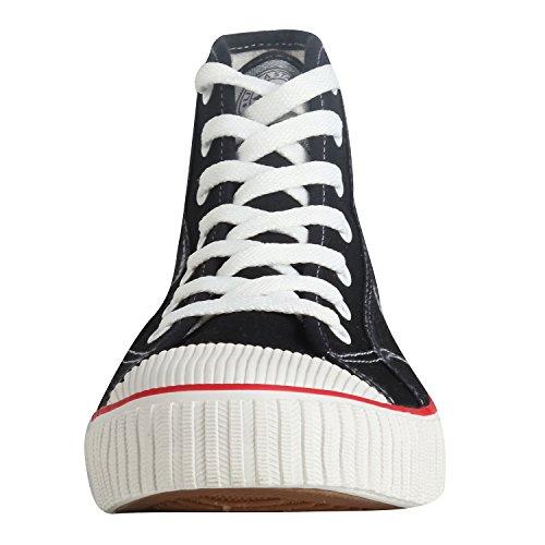 Sneakers Montant Lacets Baskets Femme Kentti Hautes à Classique 8dqTTwfF