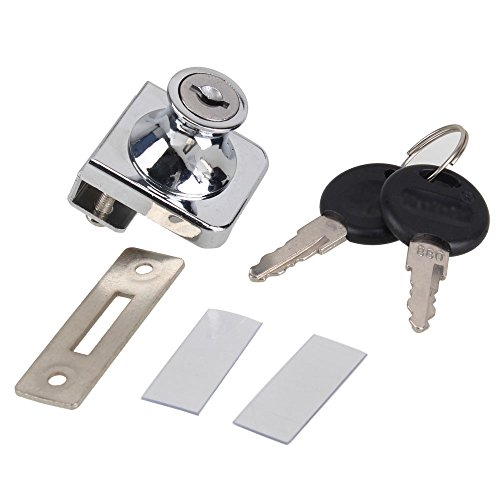 lock for glass display case - 9