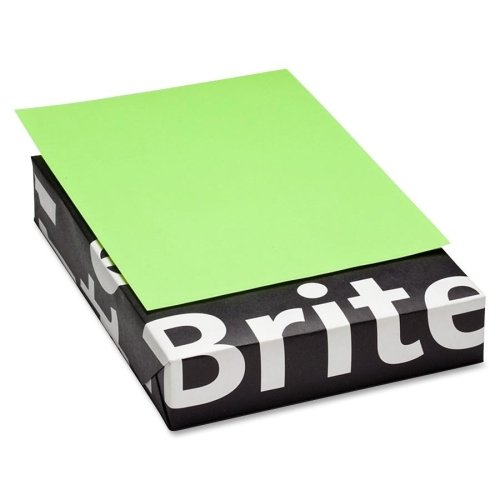 mohawk-brite-hue-colored-paper-letter-850-x-11-20-lb-smooth-500-ream-ultra-lime