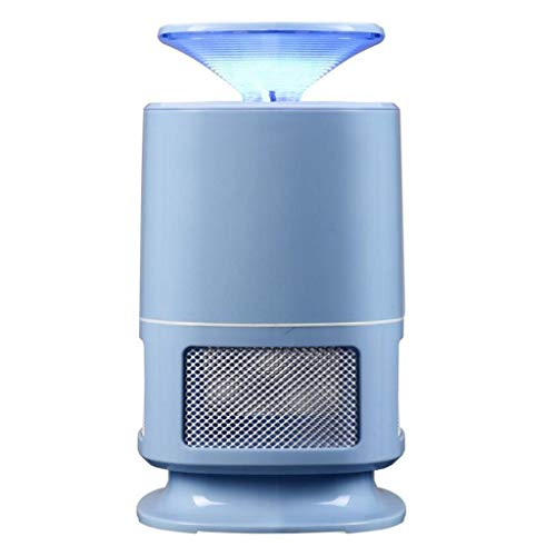 TUNBG Electronic Mosquito Killer Bug Zapper - USB Powered 4th Gen Non-Toxic LED Mosquito Trap Lamp, Bug Zapper with Eco-Friendly for Indoor Outdoor Use (Black) (Color : White),Blue
