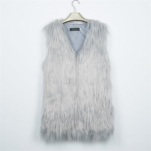 DINGANG - Chaleco - para mujer gris