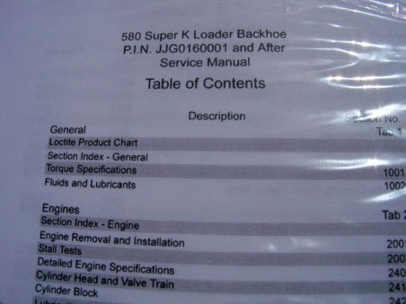 Case 580 super k loader backhoe service manual ji case amazon case 580 super k loader backhoe service manual ji case amazon books fandeluxe Gallery