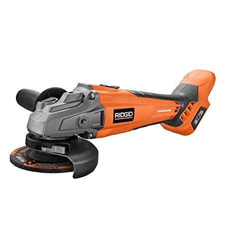 Ridgid 18-Volt Cordless Brushless 4-1 2 in. Angle Grinder Tool-Only Bulk Packaged Renewed